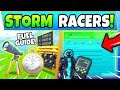 Fortnite STORM RACERS CHALLENGES GUIDE! - Telescopes, Race Track (Fortnite Missions)
