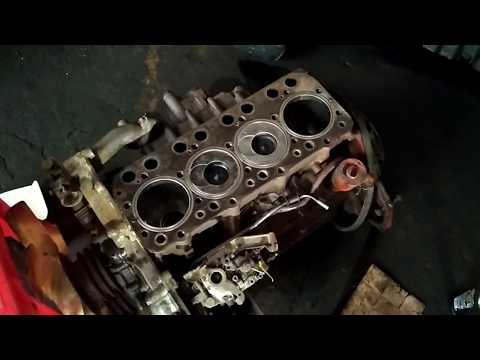 Hướng Dẩn Chi Tiết Cách Lắp Ráp động Cơ Nissan-FD35