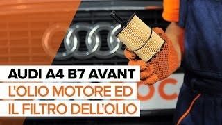 Manuale tecnico d'officina Audi A4 B8 Sedan