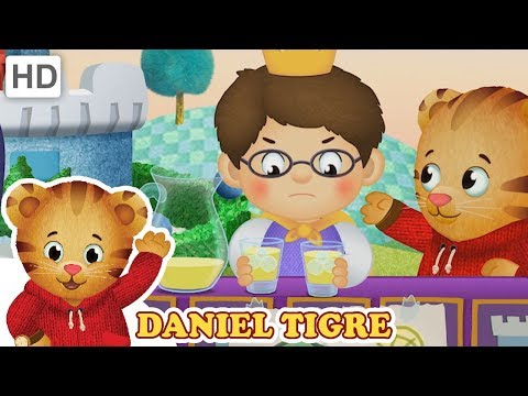 Daniel Tigre em Português - Sentindo Tantas Emoções
