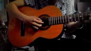 Thái Bình mồ hôi rơi cover guitar by Bộtbánhbao
