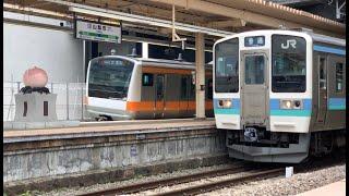 E233系0番代 T71編成 中央本線試運転 山梨市駅通過