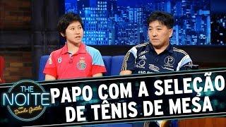 The Noite (14/07/15) - Entrevista Seleção brasileira de tênis de mesa