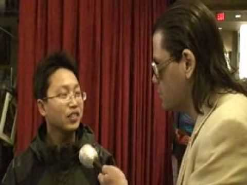 Jet Lee interviewed at the Academy Awards