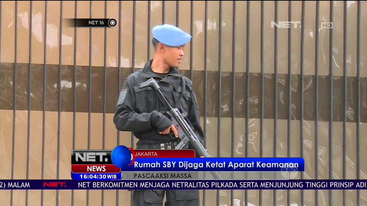 Download Rumah SBY Dijaga Ketat Oleh Aparat Kepolisian - NET16