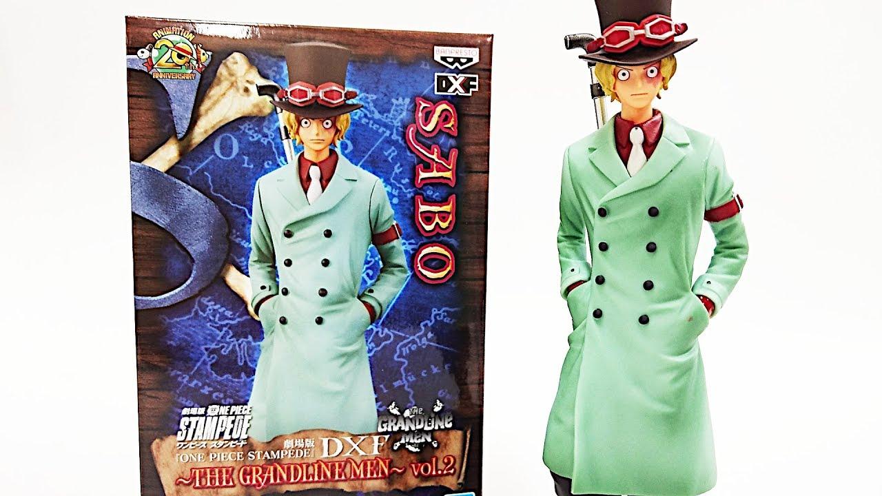 One Piece STAMPEDE DXF The Grandline Men vol.2 Sabo Figure Movie Banpresto