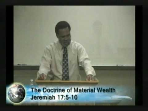 The Doctrine Of Material Wealth 11