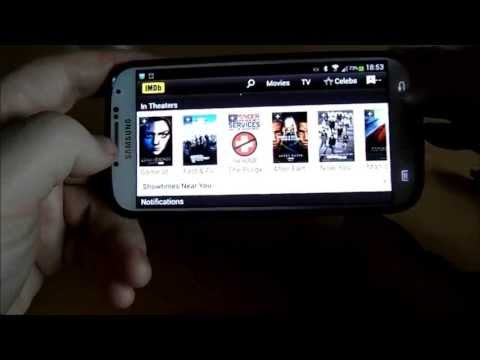 IMDB App For Android Review - Internet Movie Database App