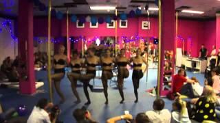 Vystoupení chair dance na Destiny birthday party