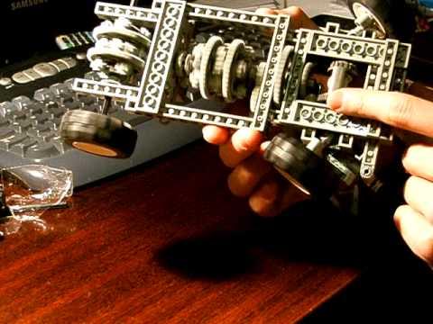 Lego Technic Quattro Torsen Diff