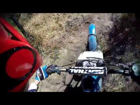 Bultaco Sherpa 199a - tope gas! Subida Enduro