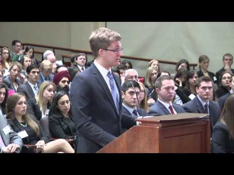 2014 Ames Moot Court Competition - Final Round