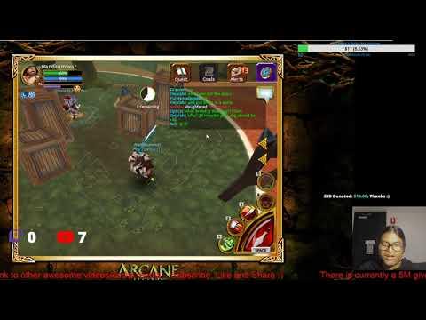 Live Battle Royale In Arcane Legend [PUBLIC TEST #1]