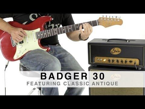 SUHR BADGER 30™ - FEATURING CLASSIC ANTIQUE