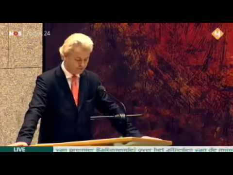 Geert Wilders debat over ONTSLAG Ella Vogelaar
