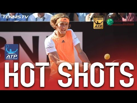 Zverev Shows Djokovic His Best Hot Shot In Rome 2017 Final