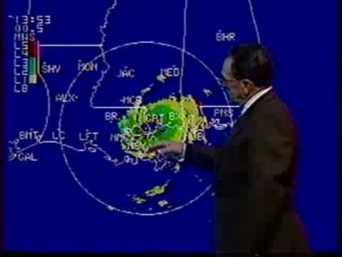 katc agnes derouenfloyd cormier hurricane elena youtube