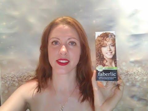 Обзор краски для волос Без аммиака 8.34 Faberlic.