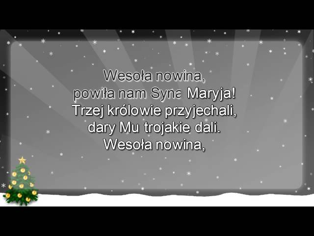 Kolęda   Dzieciątko się narodziło   z wokalem ( www.letsing.pl )