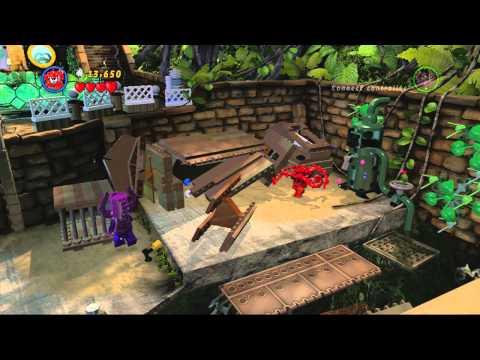 ANGEL *KID SAFE VIDEO*: Marvel Lego, Reptile House Battle