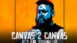 Kevin Owens doesn't destroy this painting!: WWE Canvas 2 Canvas