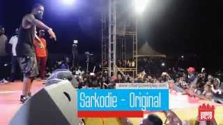 "#UrbanPowerPlay TV- Sarkodie performs ""Original"" Samini Fest 2014"