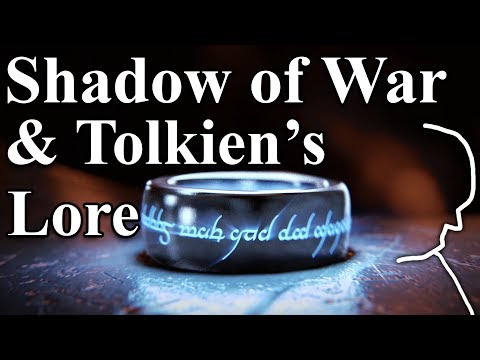 Detailed Shadow of War & Books' Lore Comparison and Explanation - Tolkien's Lore (Spoilers)
