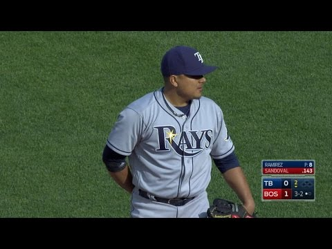TB@BOS: Ramirez tosses four solid innings in relief