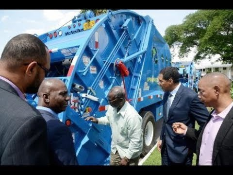 THE GLEANER MINUTE: Light thief arrested...Businessmen freed...NSWMA gets new trucks