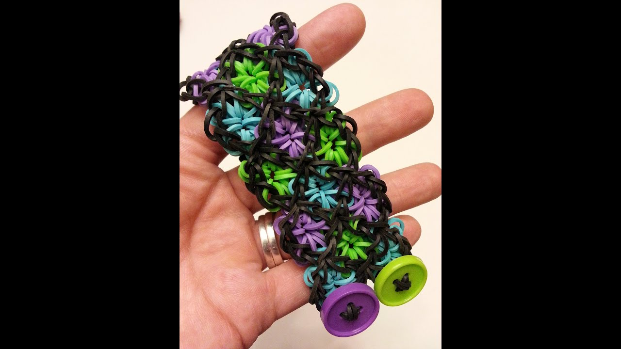 oneloom stained glass bracelet tutorial by feelinspiffy