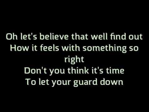 """Trust Me"" Backstreet Boys Lyrics Karaoke In A World Like This"