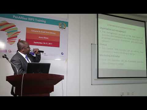 Financing Business Planning For Artisanal And Small-Scale Mining Operators
