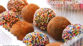 Cocoa Truffles - 3 Ingredients