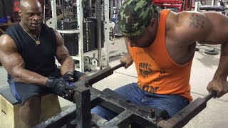 "Ronnie Coleman trains with ""The Iron Assassin"" Ep. 1"