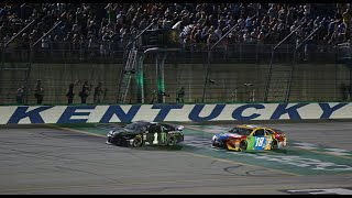 Busch brothers break down last year's Kentucky race