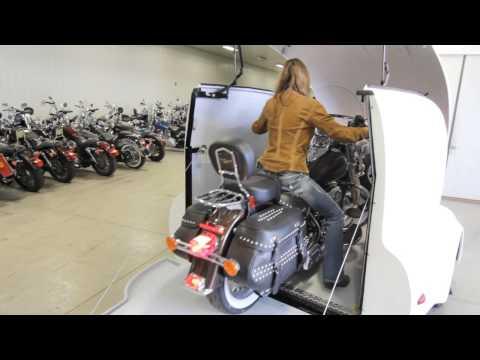 1 bike Fliptop Trailer from Ironhorse Trailers