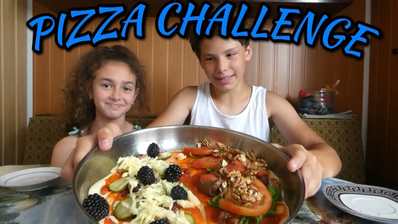 PIZZA CHALLENGE - Вижте какво стана!!!