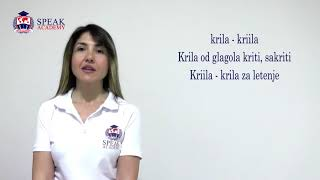 Serbian Lesson 2.2 - The length of Accent - Serbian language  courses