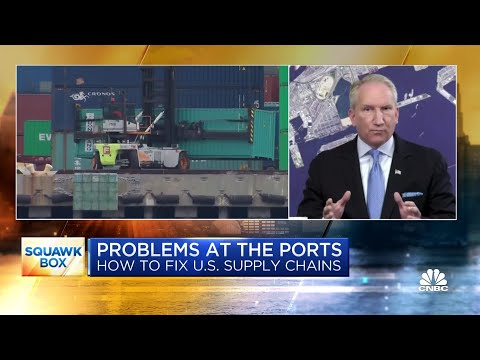 Port of Los Angeles' executive director on the backlog at U.S. ports