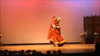 """shivani dances on """"mera assi kali ka lehenga"""""""