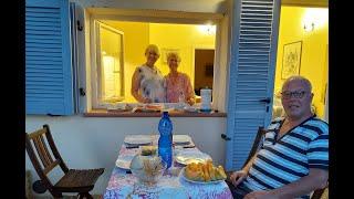 Наш завтрак на видео, на фото готовим ужин. Италия. Швейцария.