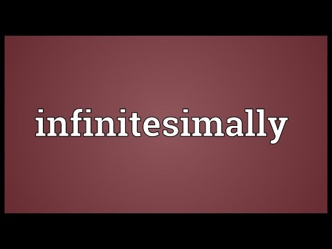 Header of infinitesimally