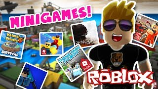 THE BEST GAMES FROM ROBLOX IN 1 STREAM - Roblox Minigames [ ItsBear ]