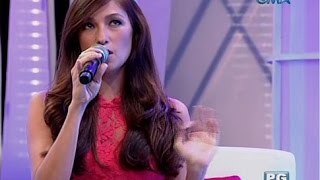 CelebriTV: Solenn Heussaff translates 'Bahay Kubo' to French
