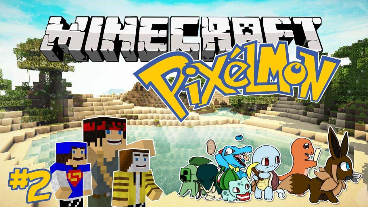 Minecraft pixelmon 3 0 episode 2 mudkip vs charmander - Pixelmon ep 1 charmander ...