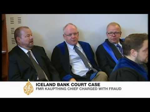 Iceland bank heads appear in court