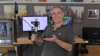USB Podcast Condenser Microphone Kit by UHURU for less then £53 Wow! thumbnail