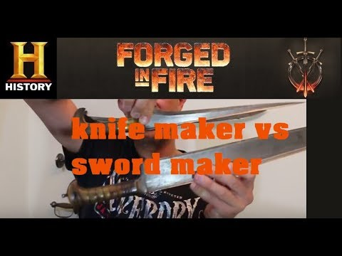 Forged in Fire: Knife Making vs Sword Making & Afghan
