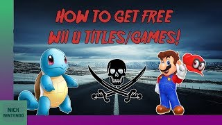 How to Download and Install FREE Wii U Games! [2017] [5.5.2] [Wii U]