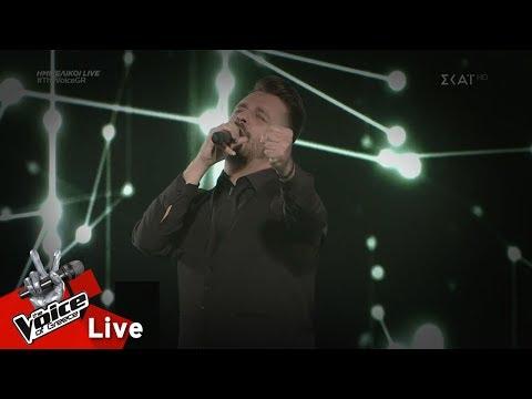 Αλέξης Πρεβενάς – Μια νύχτα ζόρικη | 1ος ημιτελικός | The Voice of Greece